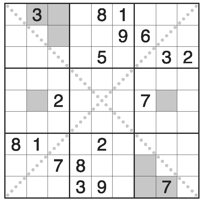 Types of Sudoku puzzles | WPF